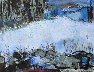 Painting - Fields In Snow by Betty Pieper