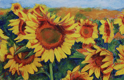 Painting - Fields Of Gold by Billie Colson