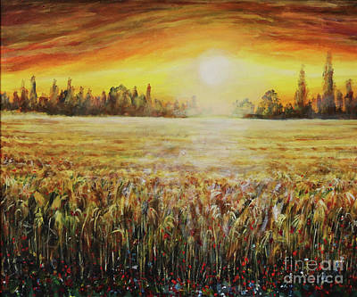 Painting - Fields Of Gold by Dariusz Orszulik