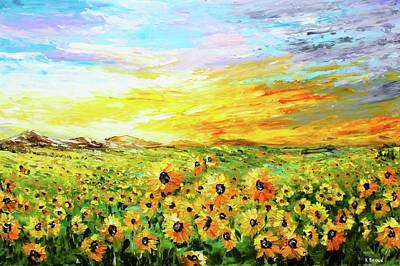 Painting - Fields Of Gold by Kevin Brown