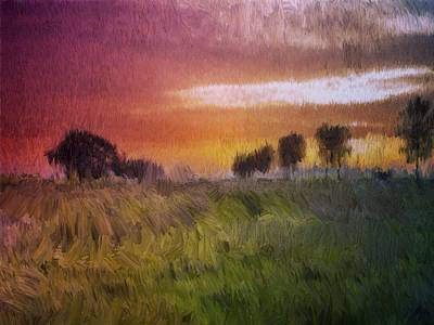 Painting - Fields Of Green by Mark Taylor