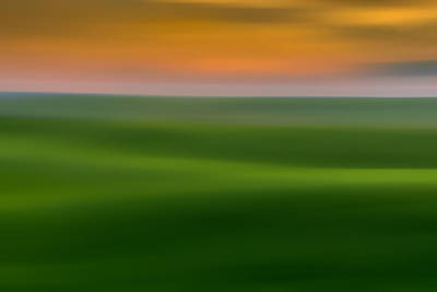 Photograph - Fields Of Green by TL Mair