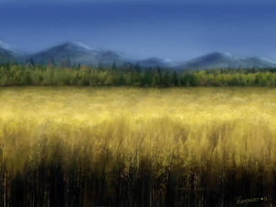 Painting - Fields Of Hunger by Cliff Lambert