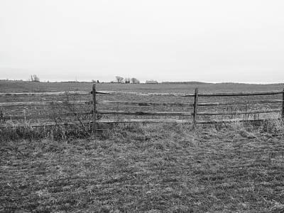 Gettysburg Series Fields Of Pickett's Charge Art Print by Paul Kercher