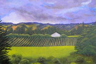 Painting - Fields Of Plenty by Mishel Vanderten