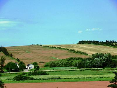 Photograph - Fields Of Prince Edward Island by Stephanie Moore