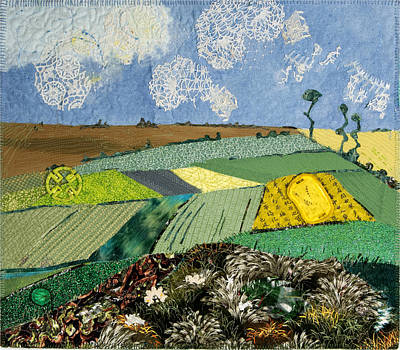 Mixed Media - Fields To Gogh by Martha Ressler