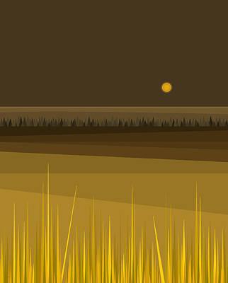 Digital Art - Fields by Val Arie