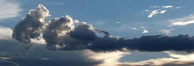 Fierce Cloud Art Print by Jera Sky