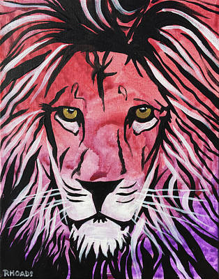Prophetic Art Wall Art - Painting - Fierce Protector 1 by Nathan Rhoads