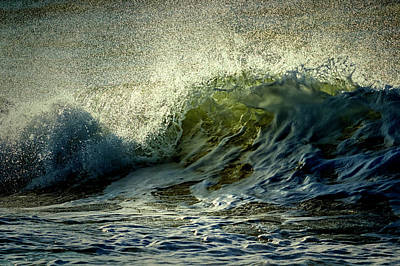 Photograph - Fierce Wave by Mike Santis