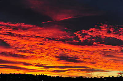 Photograph - Fiery Close Of Day by Randi Grace Nilsberg