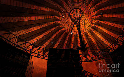 Photograph - Fiery Cosmic Berlin by Brenda Kean