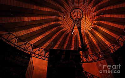 Photograph - Fiery Cosmic Berlin by Brenda Kean