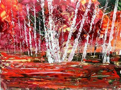 Painting - Fiery Fall by Desmond Raymond