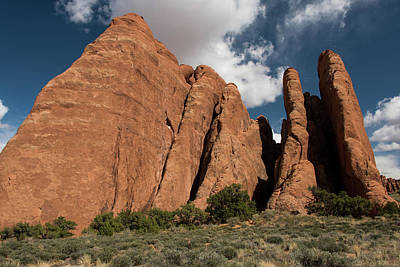 Photograph - Fiery Furnace Fins by Jennifer Ancker