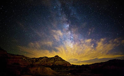 Photograph - Fiery Night In Palo Duro by Stephen Stookey