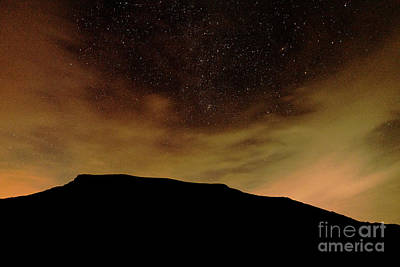 Photograph - Fiery Night Sky by Clayton Bastiani