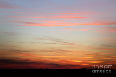Photograph - Fiery Orange Sunset Sky - Beautiful Sky by Dimitar Hristov