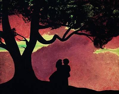 Acrylic Wall Art - Photograph - Fiery Skies Of Tara by Annie Walczyk