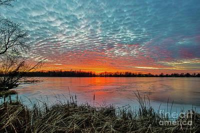 Photograph - Fiery Sky by David Arment