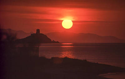 Photograph - Fiery Sun Rise by Christopher Rees