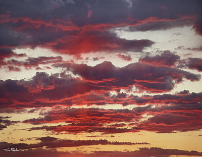 Photograph - Fiery Sunrise by Tim Fitzharris