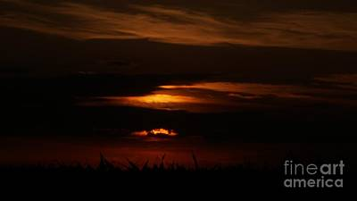 Photograph - Fiery Sunset by Nightmare's Eye Photography