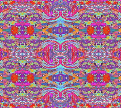 Digital Art - Fiesta   by Expressionistart studio Priscilla Batzell