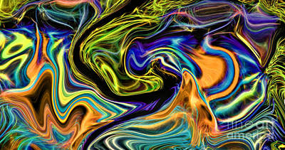 Digital Art - Fiesta Iv by Jim Fitzpatrick