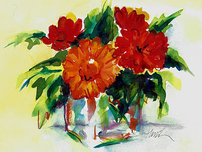 Painting - Fiesta by Jacki Kellum