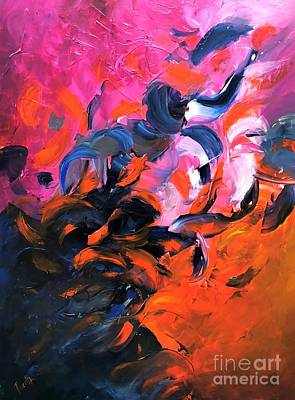 Painting - Fiesta by Preethi Mathialagan