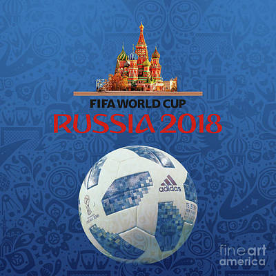 Painting - Fifa 2018 Russia  by Gull G