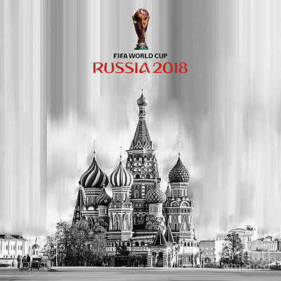 Painting - Fifa World Cup Russia 2018 by Gull G
