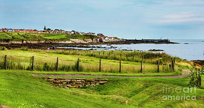 Photograph - Fife Coastal Pathway Leading To Pittenweem by MaryJane Armstrong