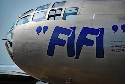 Photograph - F I F I Caf 2011 by John Schneider