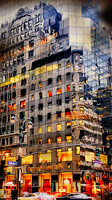 Photograph - Fifth Avenue Floor Plan by Diana Angstadt