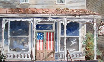 Painting - Fifth Of July by Tony Caviston