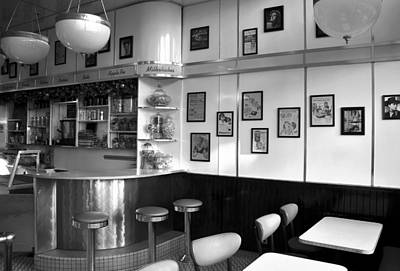 Fifties Diner Print by David Lee Thompson