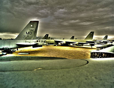 Photograph - Fifty 52d Aircraft by Jan W Faul
