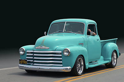Photograph - Fifty Chevy Pickup by Bill Dutting