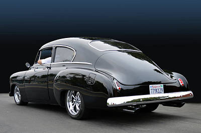 Photograph - Fifty Fastback by Bill Dutting