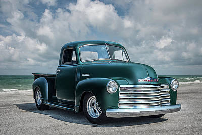 Digital Art - Fifty-one Chevy 3100 by Douglas Pittman