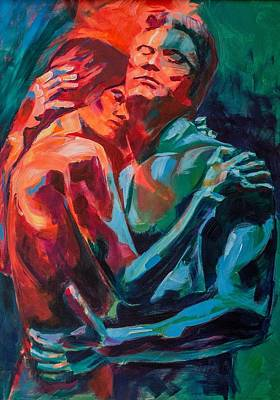 Painting - Fifty Shades Of ...? #5 by Dima Mogilevsky