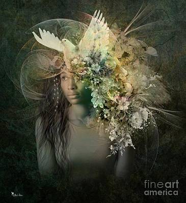 Digital Art - Fifty Shades Of Beauty by Ali Oppy