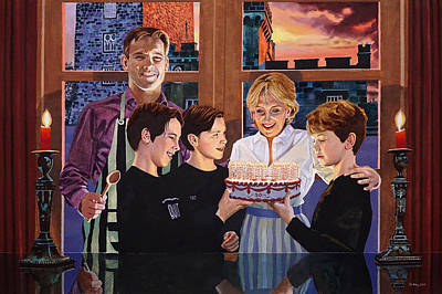 Painting - Fifty Years Home And Away by Jo King