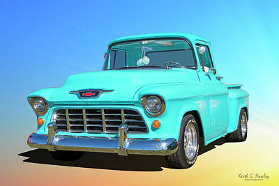 Photograph - Fifty5 Stepside Pickup by Keith Hawley