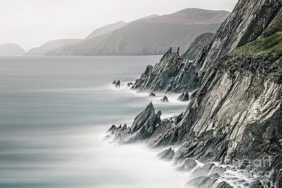 Dingle Photograph - Fight Against The Tide by Evelina Kremsdorf
