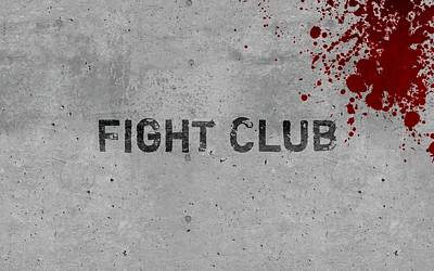 Digital Art - Fight Club by Super Lovely