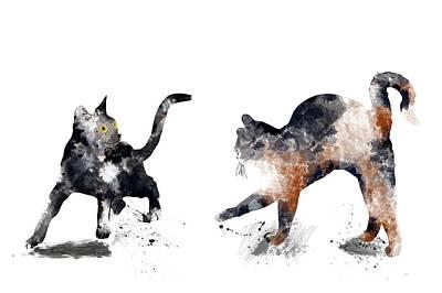 Digital Art - Fight Or Flight by Marlene Watson